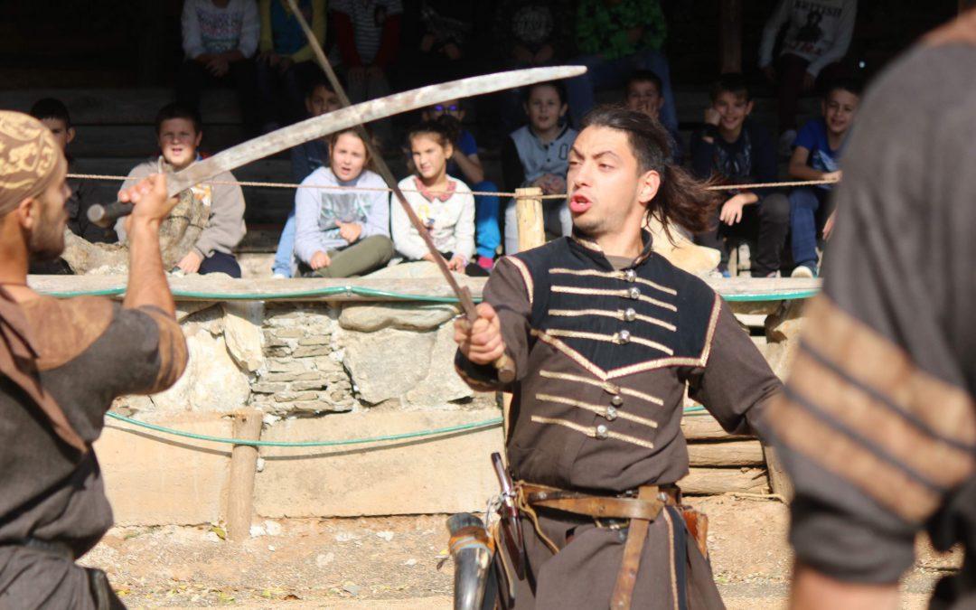 Демонстрация на историческа фехтовка